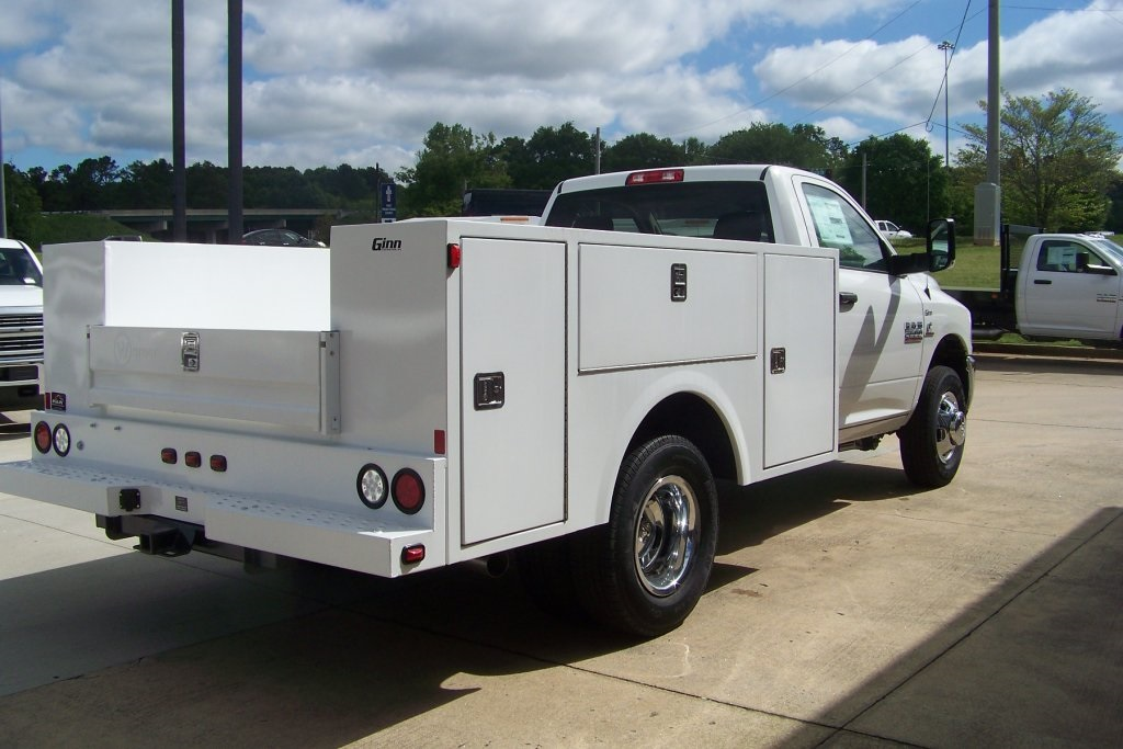2018 Ram 3500 Regular Cab DRW 4x2,  Warner Service Body #DZ8128 - photo 6
