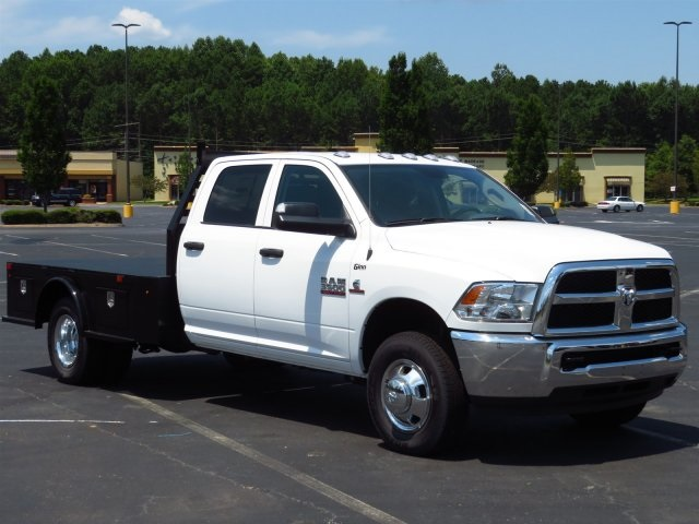 2018 Ram 3500 Crew Cab DRW 4x4,  Platform Body #DZ8210 - photo 2