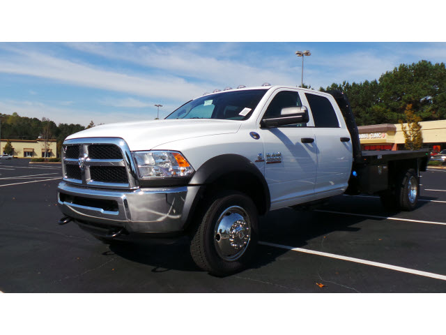2015 Ram 4500 Crew Cab DRW 4x4, Knapheide Platform Body #JZ5464 - photo 6