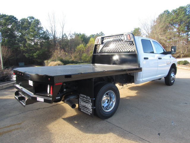 2016 Ram 3500 Crew Cab DRW 4x4, Knapheide Platform Body #JZ6585 - photo 2