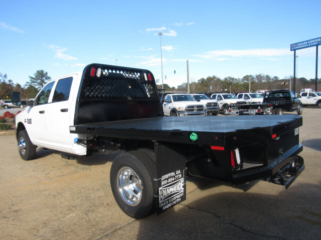 2016 Ram 3500 Crew Cab DRW 4x4, Knapheide Platform Body #JZ6585 - photo 4