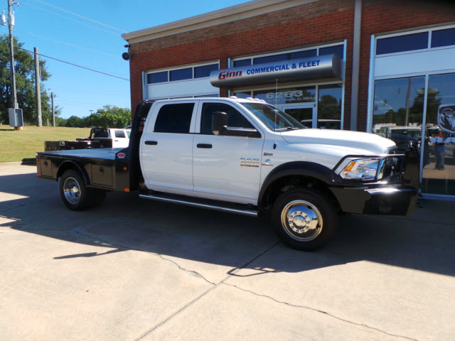 2017 Ram 4500 Crew Cab DRW 4x4, Platform Body #JZ7366 - photo 4
