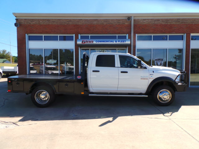 2017 Ram 4500 Crew Cab DRW 4x4, Platform Body #JZ7366 - photo 6