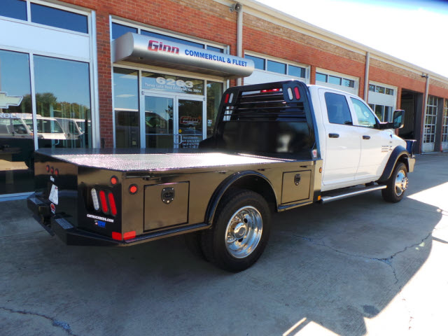 2017 Ram 4500 Crew Cab DRW 4x4, Platform Body #JZ7366 - photo 2