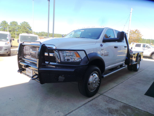 2017 Ram 4500 Crew Cab DRW 4x4, Platform Body #JZ7366 - photo 3