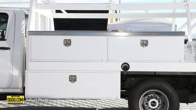 2019 Sierra 3500 Regular Cab DRW 4x2,  Harbor Contractor Body #B10005 - photo 7