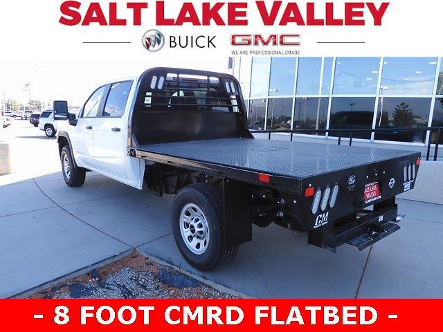 2021 GMC Sierra 3500 Crew Cab 4x4, CM Truck Beds Platform Body #F39597A - photo 1