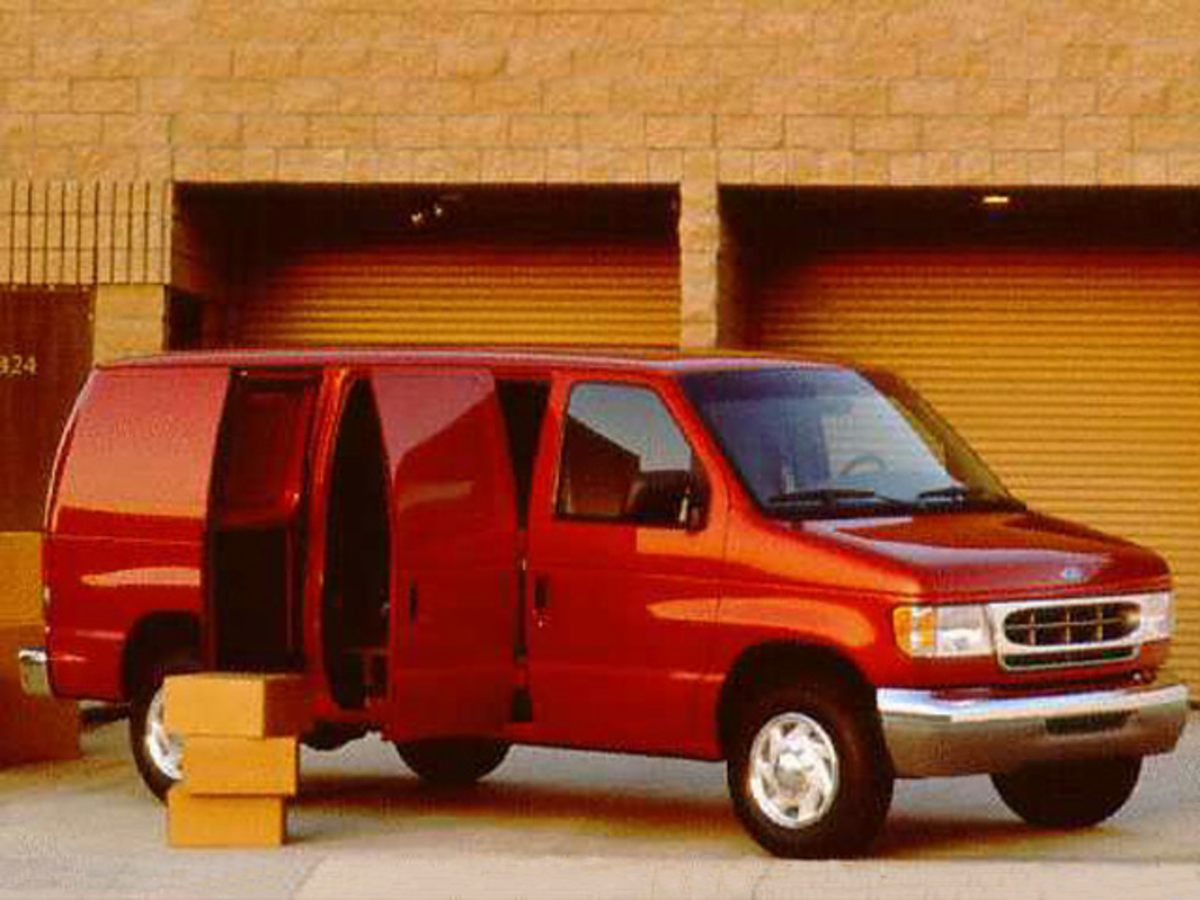 1998 Ford E-150 4x2, Empty Cargo Van #G38452B - photo 1