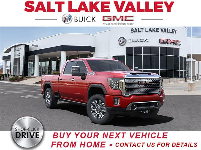 2021 GMC Sierra 3500 Crew Cab 4x4, Pickup #G39265A - photo 1