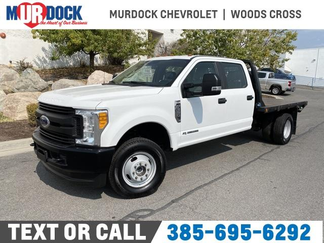 2017 Ford F-350 Crew Cab DRW 4x4, Cab Chassis #FF84348 - photo 1
