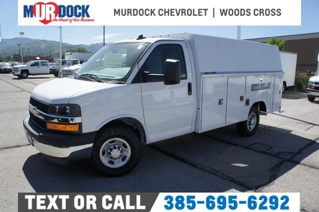 2019 Chevrolet Express 3500 4x2, Reading Service Utility Van #T38514 - photo 1