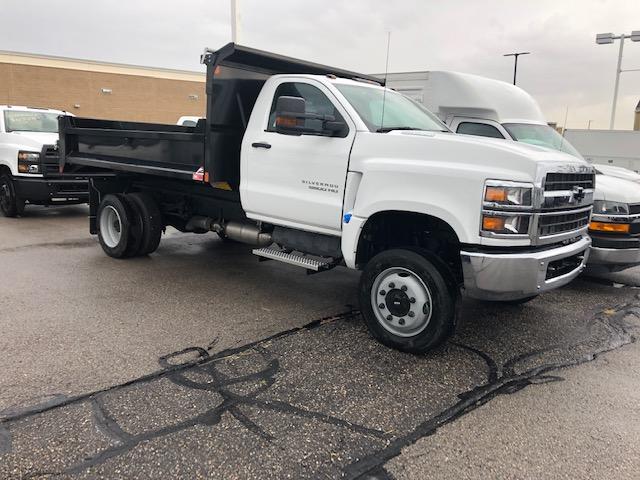 2019 Chevrolet Silverado Medium Duty Regular Cab DRW 4x4, Monroe Dump Body #T38713 - photo 1