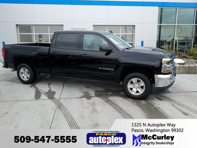 2018 Silverado 1500 Crew Cab 4x4 Pickup #CHJ411 - photo 1