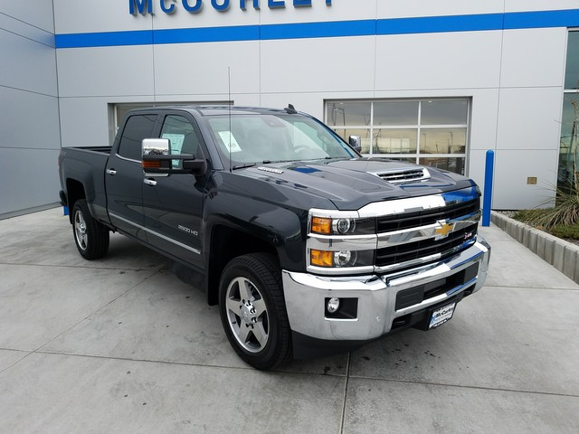 2018 Silverado 2500 Crew Cab 4x4, Pickup #CHJ459 - photo 3