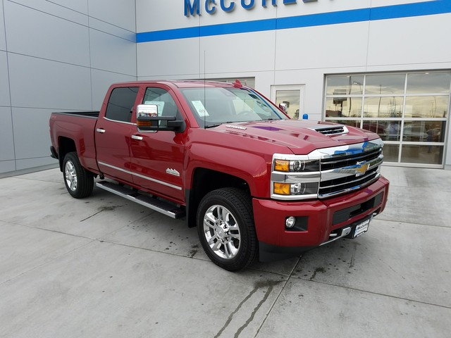 2018 Silverado 2500 Crew Cab 4x4, Pickup #CHJ465 - photo 3