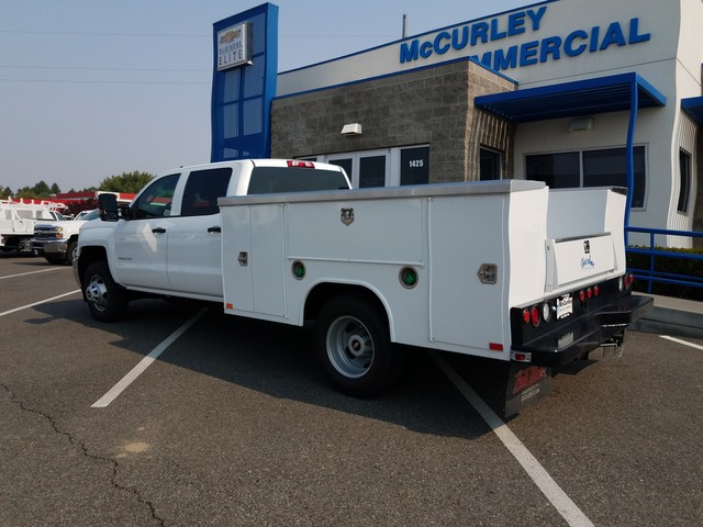 2017 Silverado 3500 Crew Cab 4x4, Harbor Service Body #FCHH1142 - photo 2