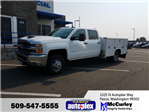 2017 Silverado 3500 Crew Cab 4x4, Harbor Service Body #FCHH1142 - photo 1