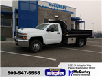 2017 Silverado 3500 Regular Cab 4x4, Dump Body #FCHH1162 - photo 1