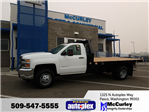 2017 Silverado 3500 Regular Cab 4x4 Platform Body #FCHH1197 - photo 1