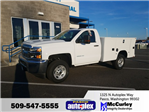 2017 Silverado 2500 Regular Cab, Service Utility Van #FCHH1245 - photo 1