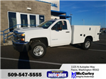 2017 Silverado 2500 Regular Cab 4x4, Service Utility Van #FCHH1246 - photo 1