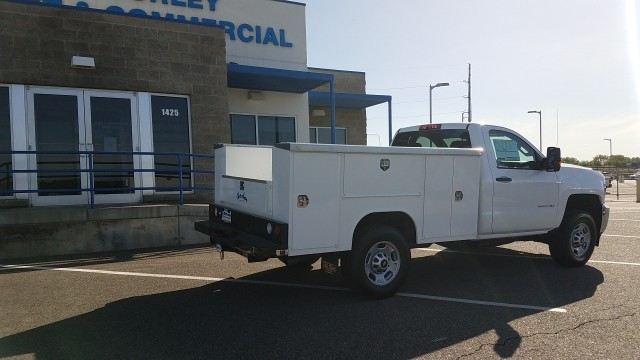 2017 Silverado 2500 Regular Cab 4x4, Service Body #FCHH429 - photo 2