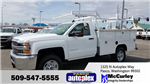 2017 Silverado 2500 Regular Cab 4x4, Service Body #FCHH785 - photo 1