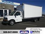 2018 Express 4500 4x2,  Morgan City Max Aluminum Cutaway Van #FCHJ1111 - photo 1