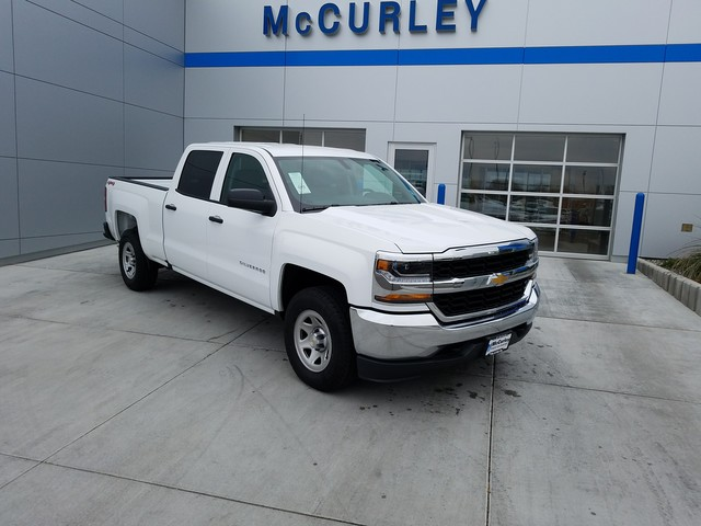 2018 Silverado 1500 Crew Cab 4x4 Pickup #FCHJ115 - photo 2