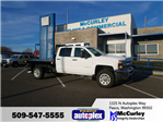 2018 Silverado 3500 Crew Cab 4x4, Platform Body #FCHJ337 - photo 1