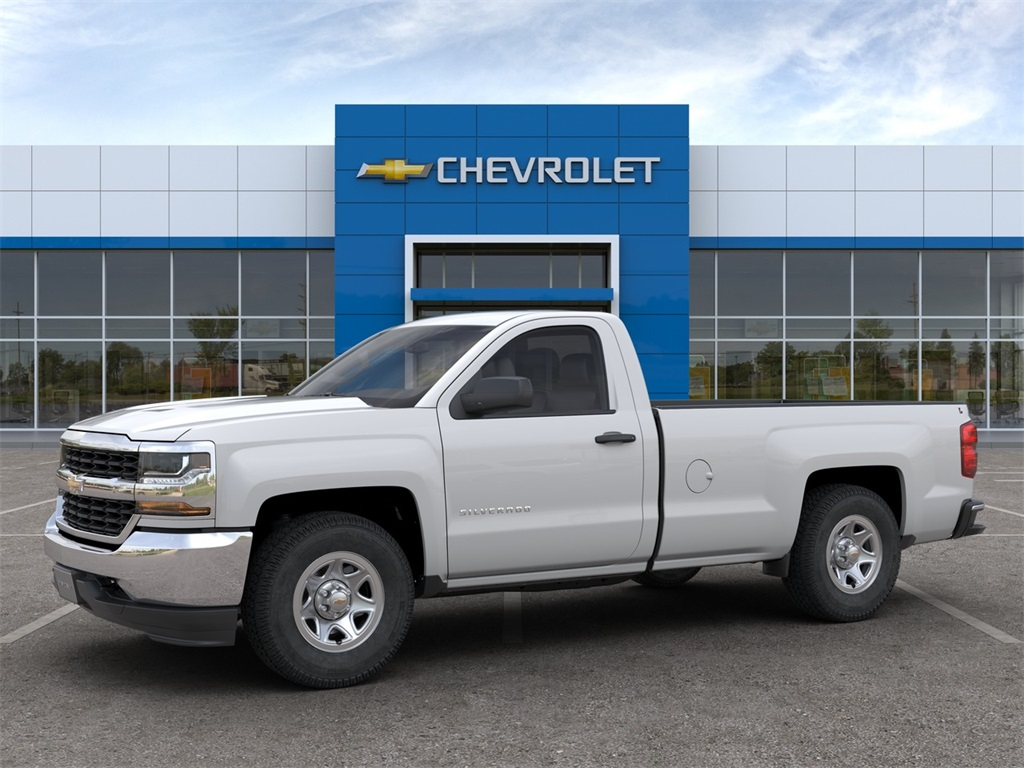 2018 Silverado 1500 Regular Cab 4x4, Pickup #FCHJ49 - photo 3
