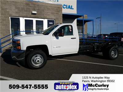 2018 Silverado 3500 Regular Cab DRW 4x4 Cab Chassis #FCHJ61 - photo 1