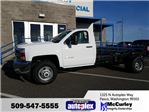 2018 Silverado 3500 Regular Cab 4x4 Cab Chassis #FCHJ61 - photo 1