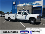 2018 Silverado 3500 Crew Cab DRW 4x4,  Service Body #FCHJ982 - photo 1
