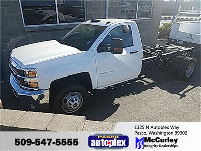 2019 Silverado 3500 Regular Cab DRW 4x2,  Cab Chassis #FCHK70 - photo 1