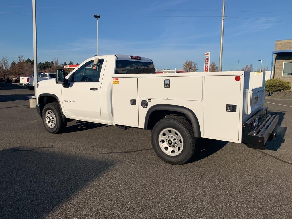 2020 Chevrolet Silverado 3500 Regular Cab 4x4, Monroe Service Body #FCHL1048 - photo 1