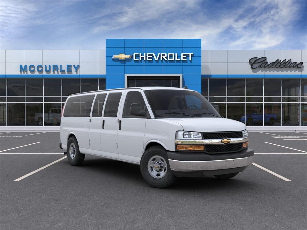 2020 Chevrolet Express 3500 4x2, Empty Cargo Van #FCHL862 - photo 1