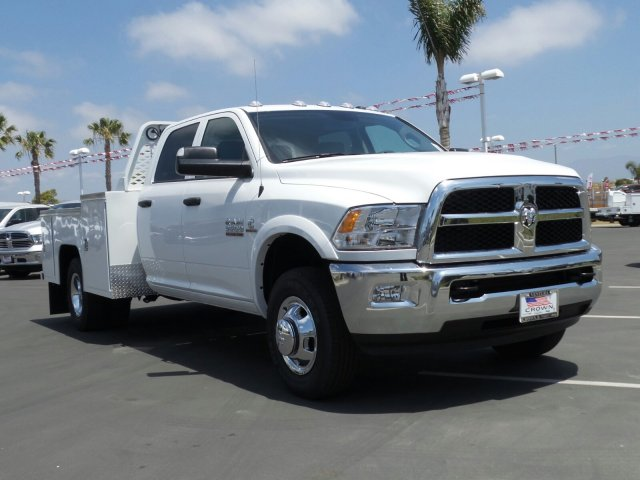 2016 Ram 3500 Crew Cab DRW 4x4, Scelzi Platform Body #C2010 - photo 4