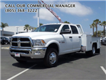 2016 Ram 3500 Crew Cab DRW 4x4, Scelzi Platform Body #C2010 - photo 1