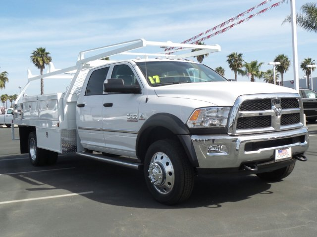 2017 Ram 4500 Crew Cab DRW 4x4, Contractor Body #D1185 - photo 4