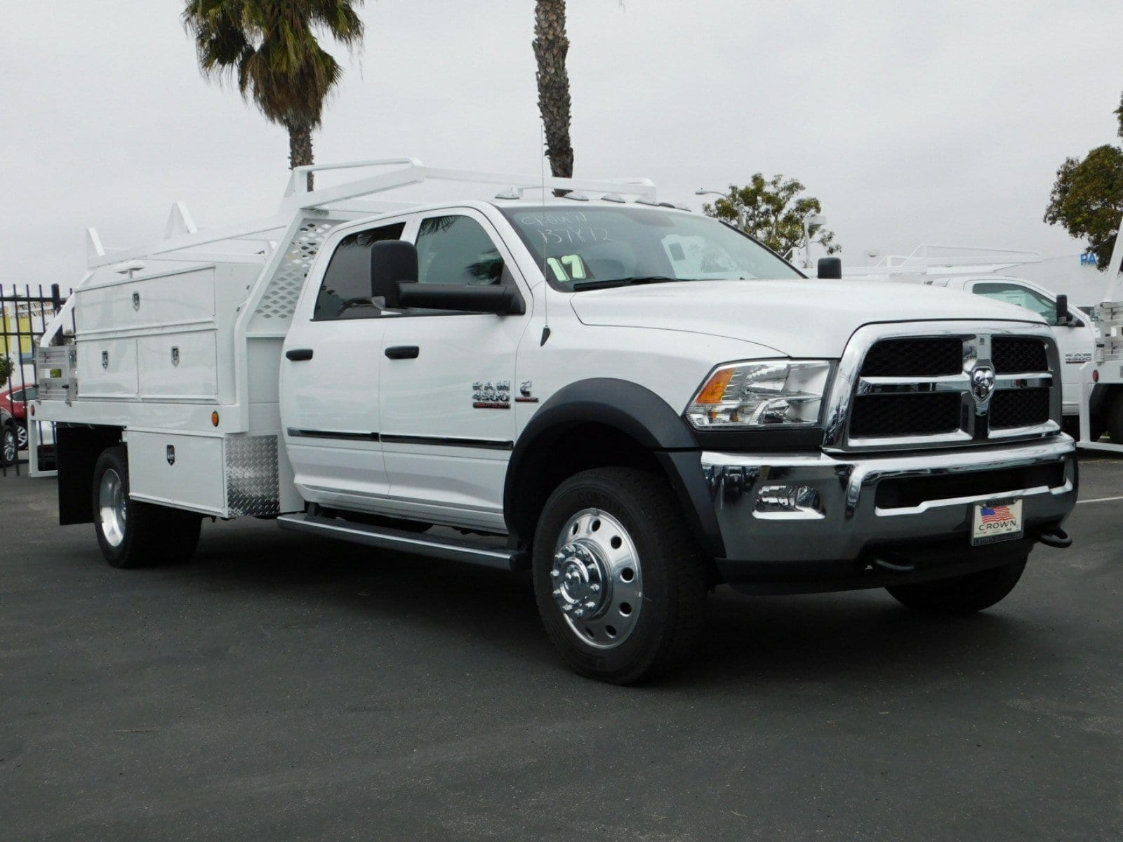 2017 Ram 4500 Crew Cab DRW 4x4,  Scelzi Contractor Body #D1185 - photo 4
