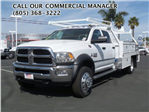 2017 Ram 4500 Crew Cab DRW 4x4, Contractor Body #D1185 - photo 1