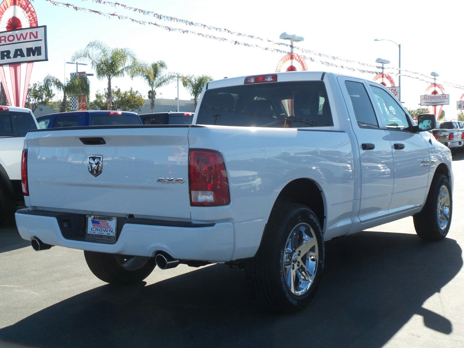 2017 Ram 1500 Quad Cab 4x4, Pickup #D2061 - photo 6