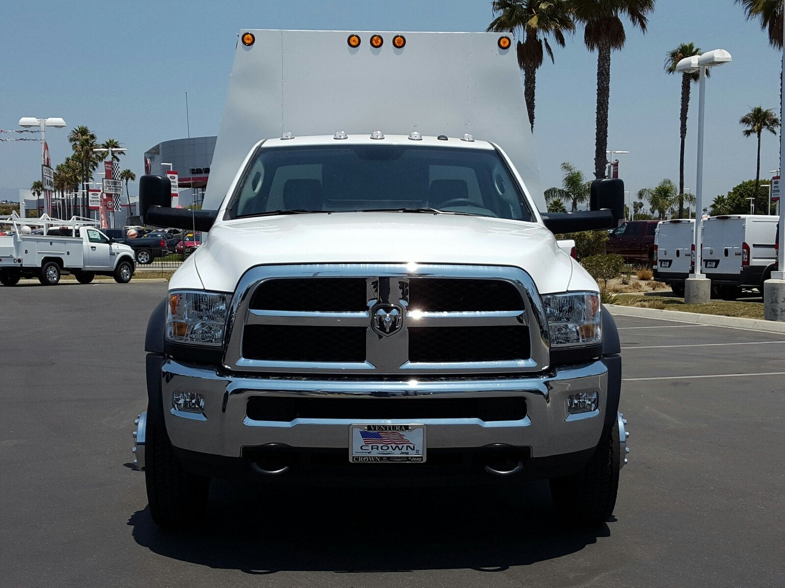 2017 Ram 4500 Regular Cab DRW 4x2,  Scelzi Service Body #D2063 - photo 3
