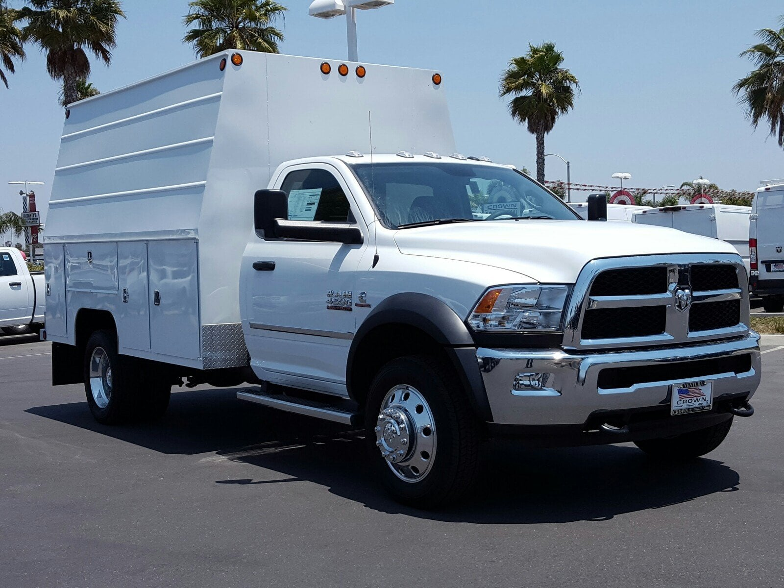 2017 Ram 4500 Regular Cab DRW 4x2,  Scelzi Service Body #D2063 - photo 4