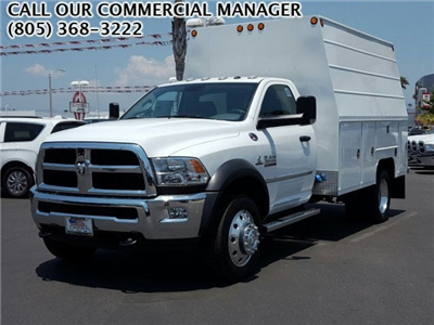 2017 Ram 4500 Regular Cab DRW 4x2,  Scelzi Crown Service Service Body #D2063 - photo 1
