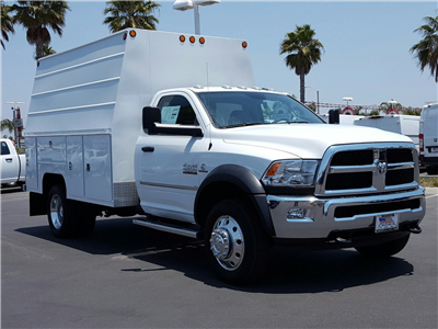2017 Ram 4500 Regular Cab DRW 4x2,  Scelzi Crown Service Service Body #D2063 - photo 4