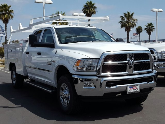 2017 Ram 3500 Crew Cab 4x4, Scelzi Service Body #D2188 - photo 4