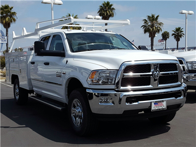 2017 Ram 3500 Crew Cab 4x4,  Scelzi Crown Service Body #D2188 - photo 1