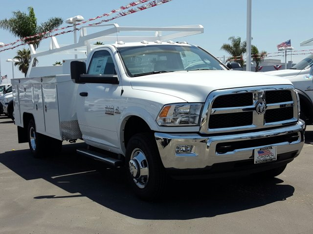 2017 Ram 3500 Regular Cab DRW, Scelzi Service Body #D2204 - photo 4